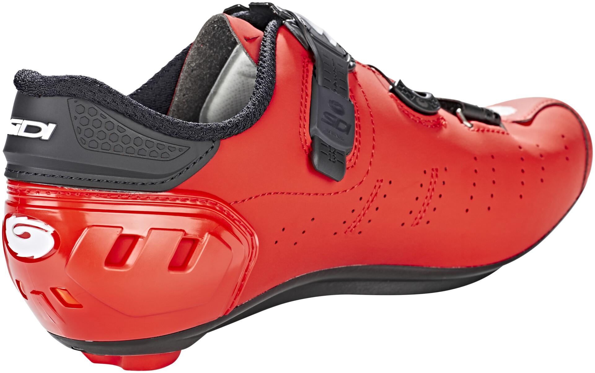 Sidi Ergo 5 Carbon Shoes Men matt red